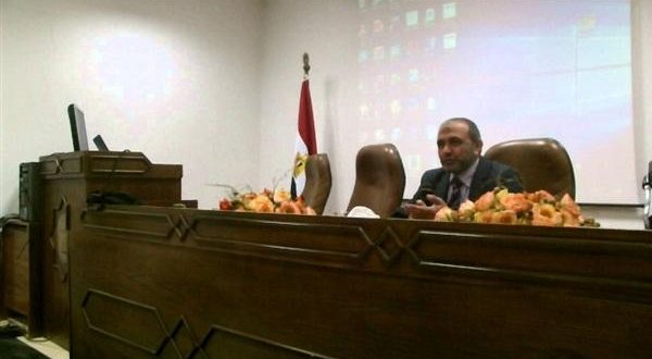الدكتور حاتم عودة رئيس المعهد القومي للبحوث الفلكية والجيوفيزيقية