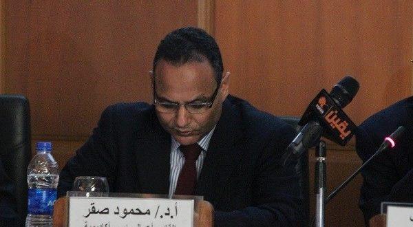 الدكتور محمود صقر رئيس أكاديمية البحث العلمي